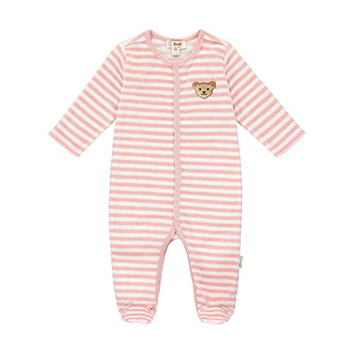 Steiff Baby-Unisex Mit Süßer Steiff-teddybärapplikation22502 Strampler GOTS, Zephyr, 056