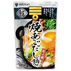 ミツカン 焼あごだし鍋つゆ ストレ−ト 750g×12袋入×(2ケース)