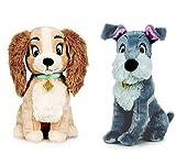 Disney Susi und Strolch - Pack 2 Plüsch 11'81'/30cm Hund Susi und Hund Strolch Qualität super Soft.