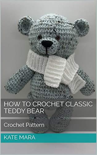 Crochet bear amigurumi pattern | Amiguroom Toys | 500x314