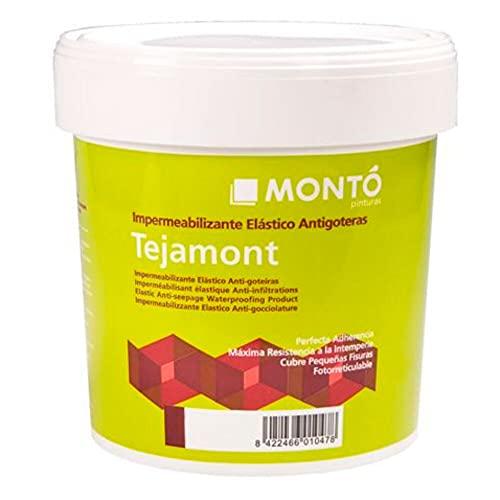 Tejamont Top Cover. Revestimiento Elástico Protector e Impermeabilizante (15L, Blanco)