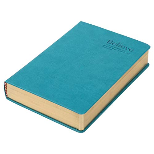 A5 Notebook 600 Pages Sketch Large Journal Addensare Manuale di Bibbia Cancelleria (Colore : Seaweed Green, Dimensioni : A5)