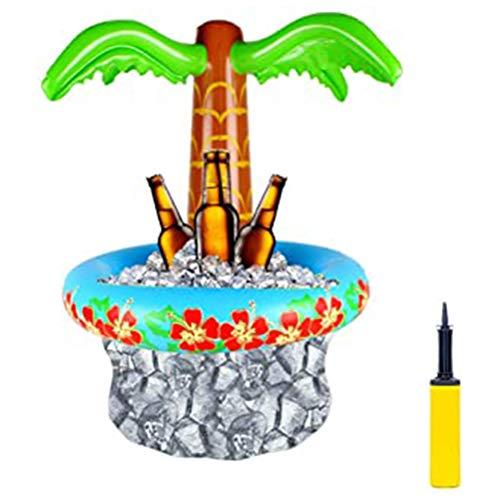 Urisgo Birra Gonfiabile Secchiello Dispositivo di Raffreddamento Vasca Calda Secchiello per Il Ghiaccio Gonfiabile per Le Bevande e Gli spuntini