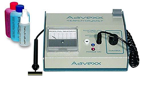Micro-300 Electrofóresis sistema Utilice Home for Non Invasive Depilación Permanente de la...