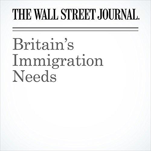 Britain's Immigration Needs copertina