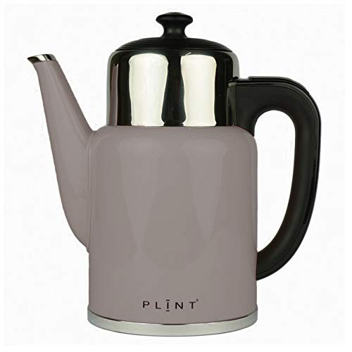 PLINT Pure Retro Wasserkocher 1,7 L Fast Schwarz