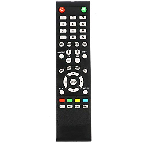 AIDITIYMI New Replacement for PROSCAN TV PLDED4017 PLDED4016A-D PLDED3996A-E PLDED3273A-E PLDED5066A-B PLDED5068A-D PLEDV3282A PLED2243A-I PLDED5066B PLDED5066A Remote