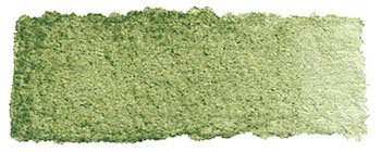 Schmincke Watercolor Pans - Green Earth - Half Pan by Schmincke