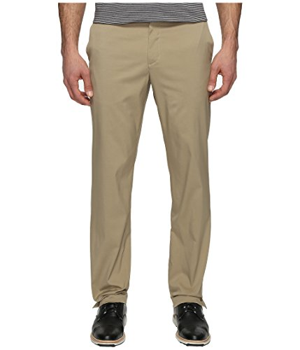 NIKE Men's Flat Front Golf Pants, Khaki/Khaki, Size 28/32