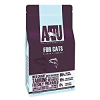 85% SALMON AND HERRING- Our Salmon and Herring 85/15 cat food combines 85% salmon and herring with 15% 'super-8' fruit and veg for a delicious meal your kitty will enjoy MADE USING THE 'SUPER-8' FOR VITAL NUTRIENTS- Our AATU dry cat food includes a b...