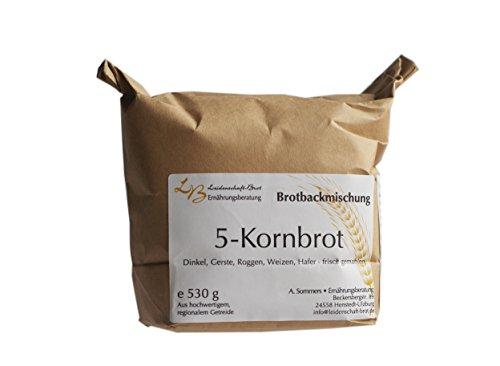 Leidenschaft-Brot - Brotbackmischung 5-Kornbrot ca. 530 g