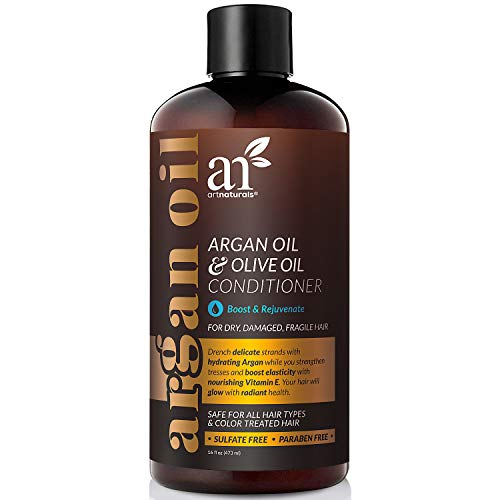 ArtNaturals Argan-Oil Conditioner for Hair-Regrowth - (16 Fl Oz / 473ml) - Sulfate Free - Treatment for Hair Loss and Thinning - Growth Product For Men & Women - Infused with Biotin