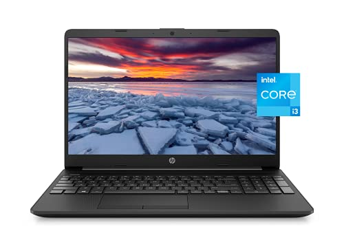 """2021 Newest HP 15"""" HD Micro-Edge Lightweight Laptop, 11th Gen Intel i3-1115(Up to 4.1GHz, Beat i5-1030G7), 16GB RAM, 1TB NVMe SSD, Ethernet, WiFi, Webcam, HDMI, USB-A&C, Fast Charge,w/GM Accessories"""