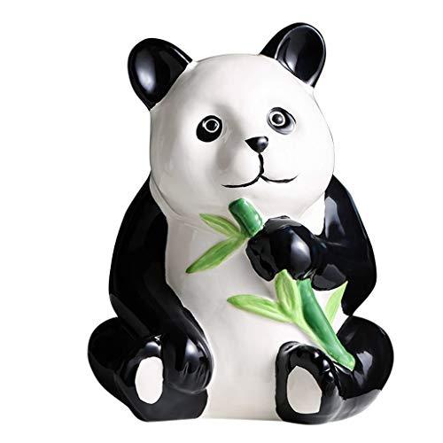 YBYB Hucha Oso de Panda de cerámica Hucha Moneda de Ahorro de Dinero de Banco de la Caja for el Regalo de los niños en la Navidad, cumpleaños y Año Nuevo Money Bank Alcancías (Color : A)