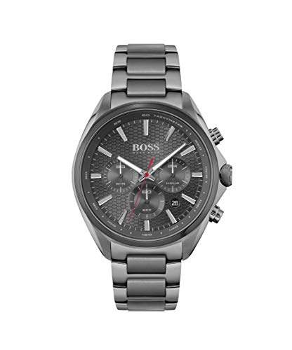 Hugo BOSS Men's Analog Quartz Watch with Stainless Steel Strap 1513858