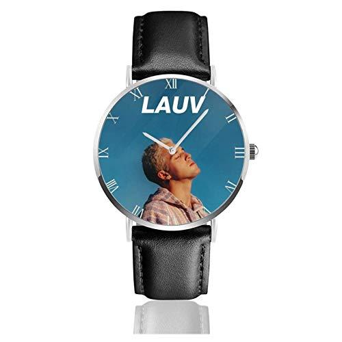 Relojes Anolog Negocio Cuarzo Cuero de PU Amable Relojes de Pulsera Wrist Watches Lauv