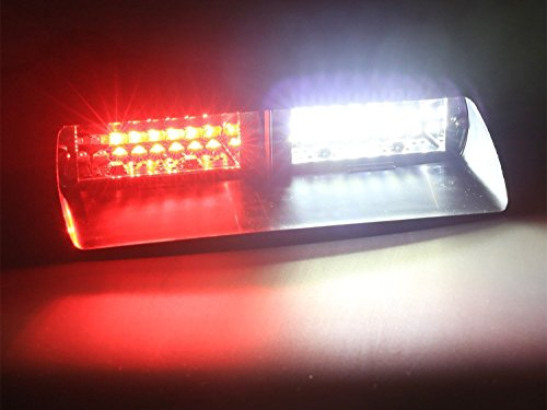 Jackey Awesome Car 16-led 18 Flashing Mode Emergency Vehicle Dash Warning Strobe Flash Light (Red & White)