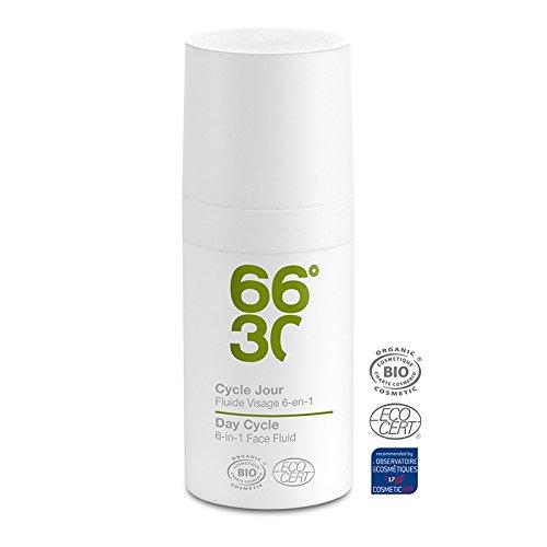 66°30 Organic - Cycle Jour - Fluide Visage Ultra-Hydratant - 15ml