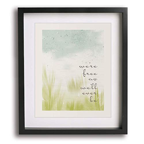 Free by Zac Brown Band inspired lyric wall art print