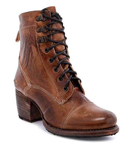 Bed|Stu Women's Judgement Leather Boot (8, Tan Rustic)