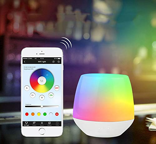 Tsriy Smart Light Nightlamp, WiFi Ibox1 LED Controller Dimmer Tafellamp App iOS Android afstandsbediening RGB LED Lamp DC 5 V