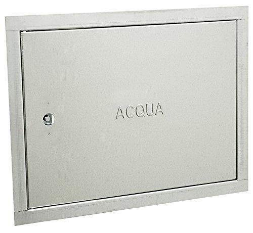 Puerta para contador de agua, 40 x 30 cm, 5 unidades