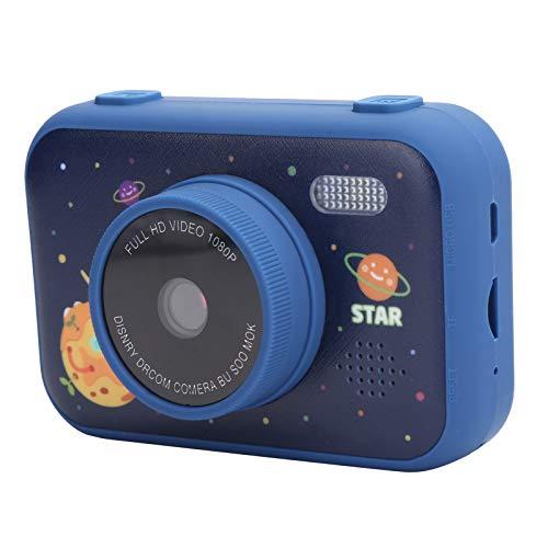 Fotocamere per Bambini, Scattare Foto Lettore Mp3 modalità Flash Fotocamera per Bambini, Bambini per Bambine Regali di Compleanno per Bambini(Navy Blue)