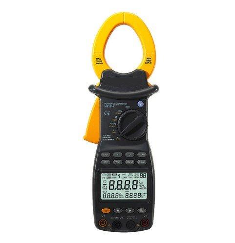 GOWE medidor Digital de potencia con abrazadera (tres fase probador armónica con...