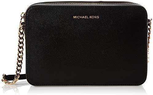 Michael Kors Jet Set Saffiano Leather Crossbody Bag