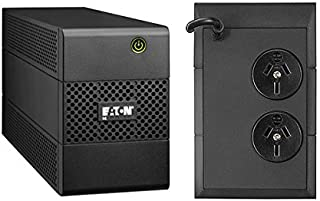 Eaton 5E UPS 650VA/360W 2 x ANZ OUTLETS, no Fan, Line Interactive AVR Essential UPS, 1 Year Warranty