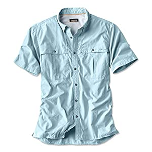 Men's Short-Sleeved Button Down Shirt