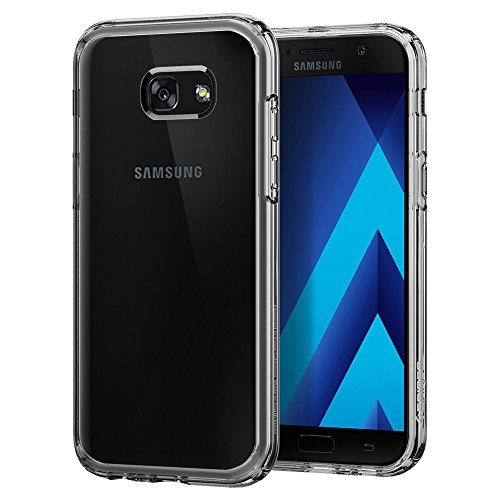 Spigen 573CS21157 Ultra Hybrid für Samsung Galaxy A5 2017 Hülle Einteilig Transparent Schutzhülle Case - Crystal Clear