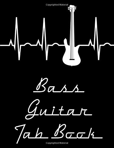 Bass Guitar Tab Book: Bass Tablature Book; A Bass Guitar Tab Notebook for Bass Guitarists, Bassists, & Musicians with Depth: 120 Bass Guitar Tab Pages for Inspired Creation (Blank Tablature Notebooks)