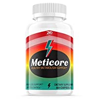 Meticore Weight Management Pills, Medicore Manticore Pills Metabolism Supplement - 60 Capsules