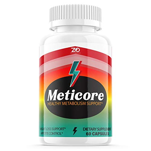 Meticore Weight Management Metabolism Pills, Medicore Manticore Pills Supplement - 60 Capsules