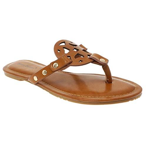 MVE Women's Slip On Open Toe Fashion Sandals
