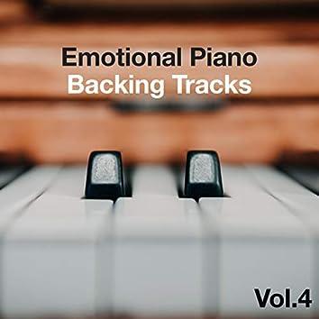Emotional Piano Backing Tracks, Vol. 4