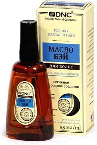 DNC - Aceite de bahía para cabello seco dañado (55 ml) evita la pérdida de cabello con efecto de calentamiento suave