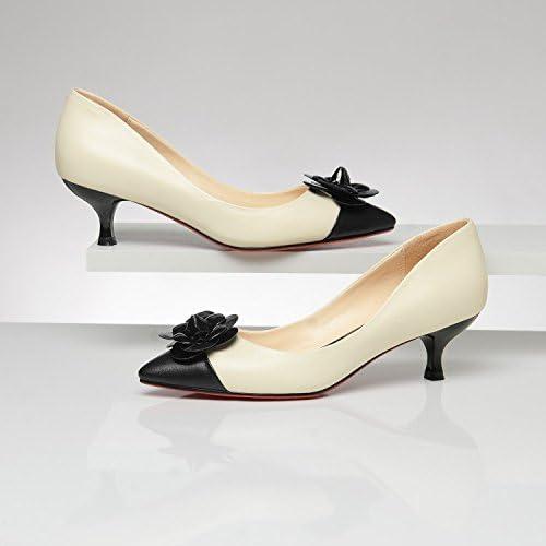 Jqdyl Talons hautsChaussures à Talons Hauts Chaussures Simples Bouche Peu Profonde Chaussures à Talons Hauts Simples