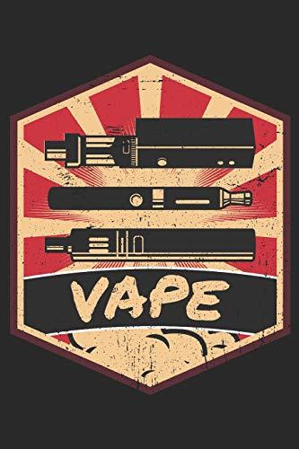 Vape Propaganda - Different Vape Gears: Blank Lined Notebook for Vaper and Steamer