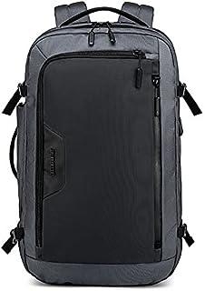 Arctic Hunter 15.6 Inch Laptop Backpack Multifunctional Travel Bag Waterproof - Grey