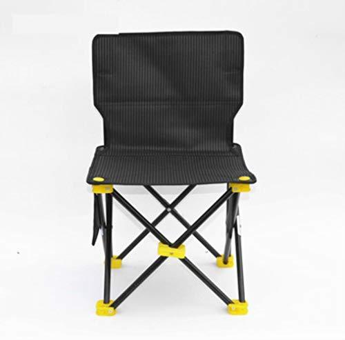 TTZY Chaise Pliante Extérieure Ultra Légère Portable Camping Croquis Dossier Chaise Pliable Petit Tabouret Chaises De Pêche Kamp Sandalyesi, B Moyen