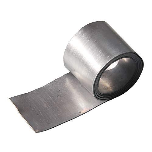 鉛シート 鉛テープ 【1mm厚】 はさみで切れて使いやすさ抜群 遮音・制振・重さ調整に Pb1mm