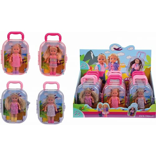 Simba Toys Evi In Kinder-Rucksack, 10 cm, Mehrfarbig (Multicolore)