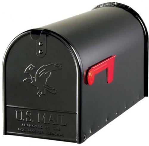 Origineel USS. Mailbox - ELITE - staal - zwart - maat T2