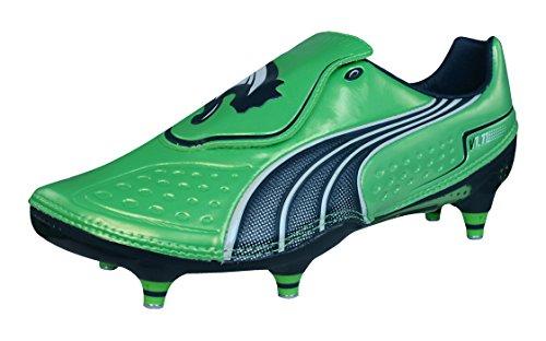 Puma V1.11 SG Hombre Botas de fútbol-Green-39