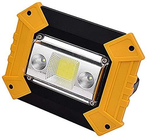 縦断勾配 Foco Led Portatil Luces de Trabajo Recargables LED de 10W Lámpara de Viaje para Acampar con Puerto USB 4 Modos de iluminación IP 65 Foco de Seguridad Impermeable