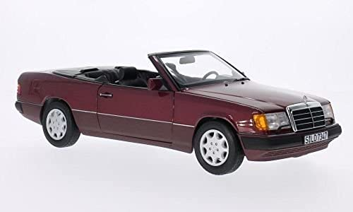 Mercedes 300 CE-24 (A124), rot, Modellauto, Fertigmodell, I-Norev 1 18