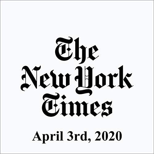 April 3, 2020 audiobook cover art