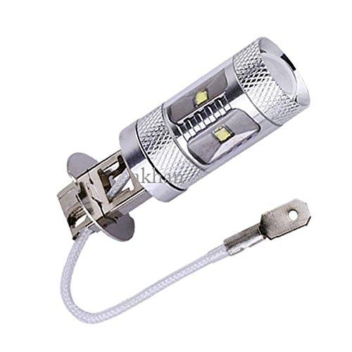 30WH3 - Xenon Blanc Led lampe ampoule Lumière éclairage High Power Cree SMD Chip H3 12V 30W